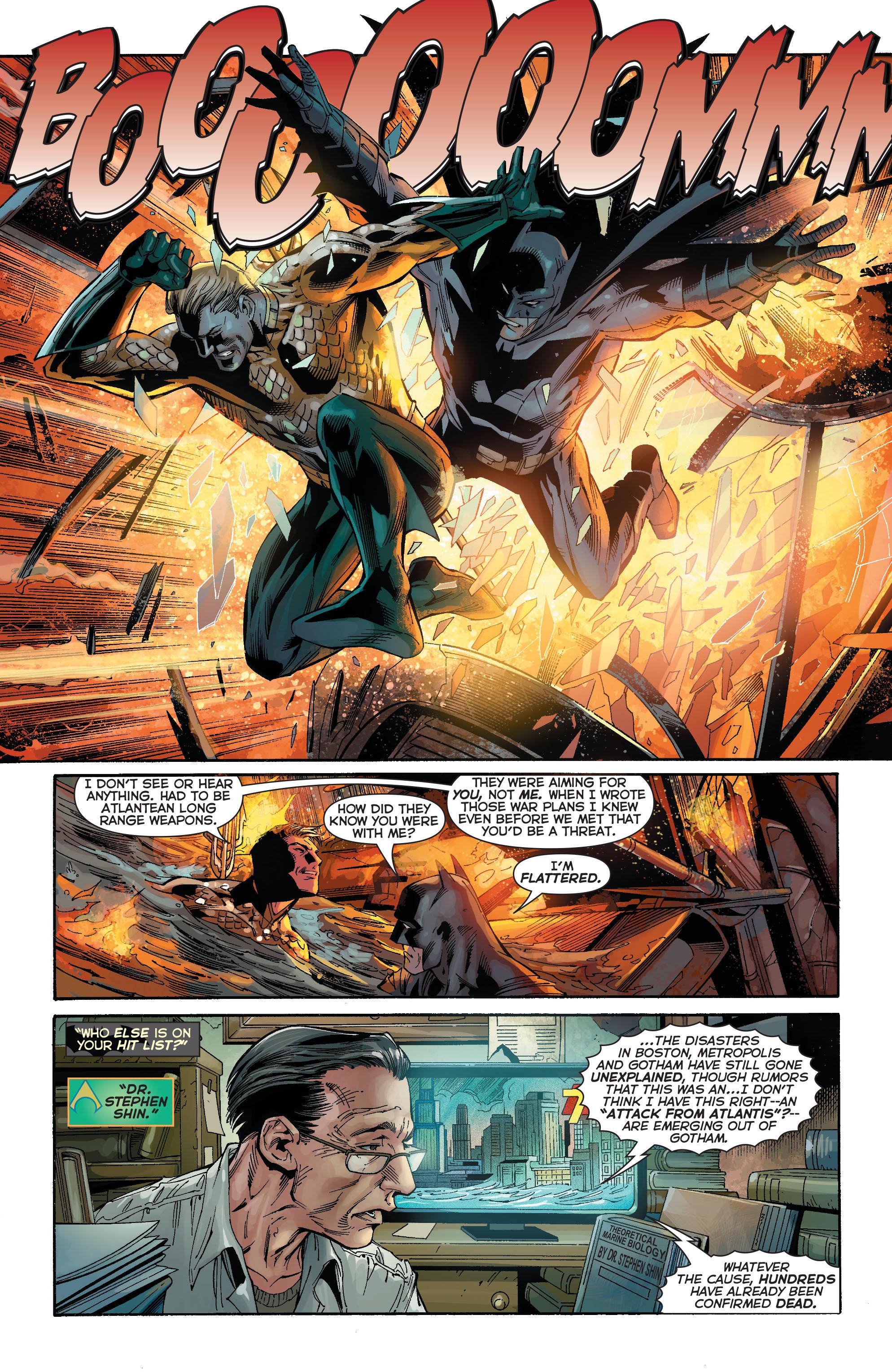 Read online Aquaman (2011) comic -  Issue #15 - 13