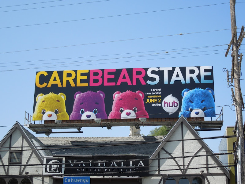 Care Bear Stare Hub billboard