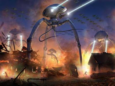 Alien menyerang bumi