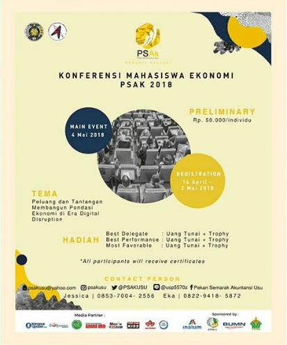 Event Konferensi Mahasiswa Ekonomi