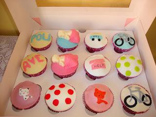 Cupcakess Baby Shower de Anna