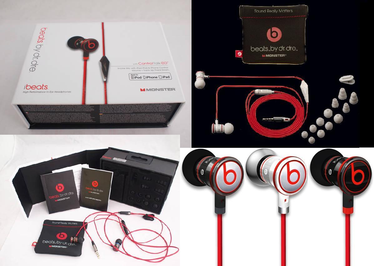 8ecf035eec4 Monster Beats By Dr. Dre - iBeats With Controltalk. iBeats™ High Resolution  In-Ear Headphones