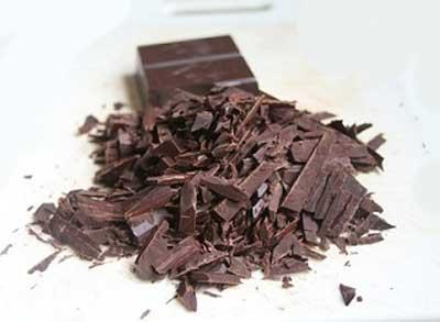 шоколадные  опилки