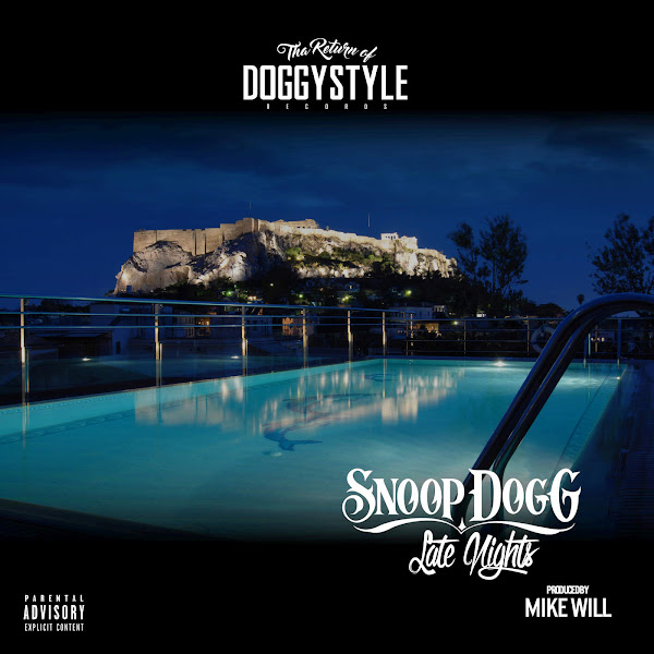 Snoop Dogg - Late Nights - Single Cover