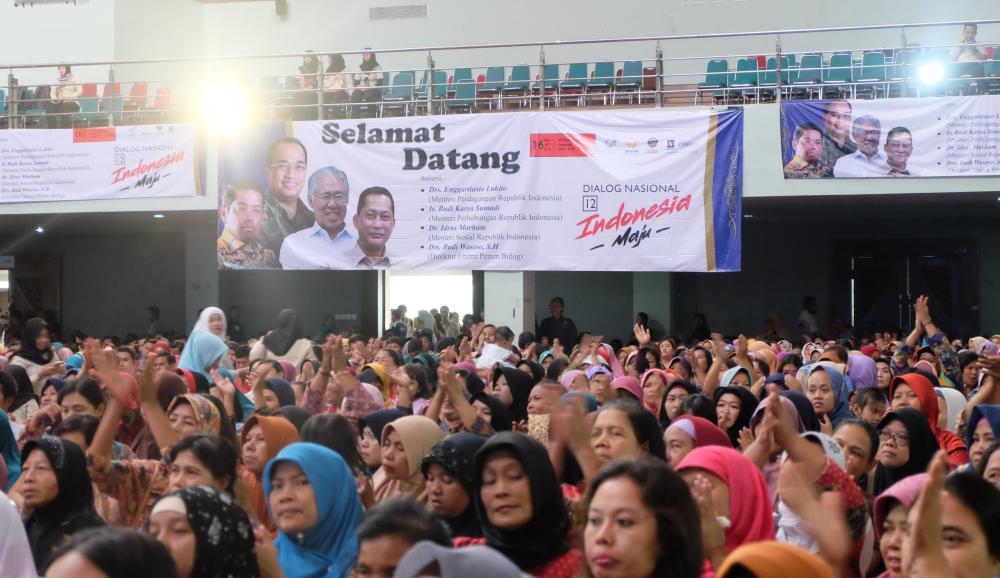 Dialog Nasional Indonesia Maju ke-12, Indonesia Maju Tak Sekadar Wacana!