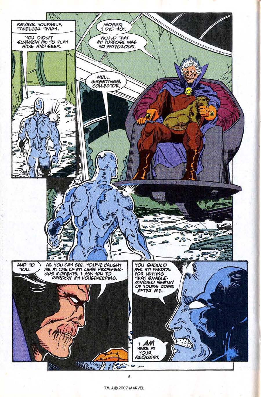 Read online Silver Surfer (1987) comic -  Issue #61 - 8
