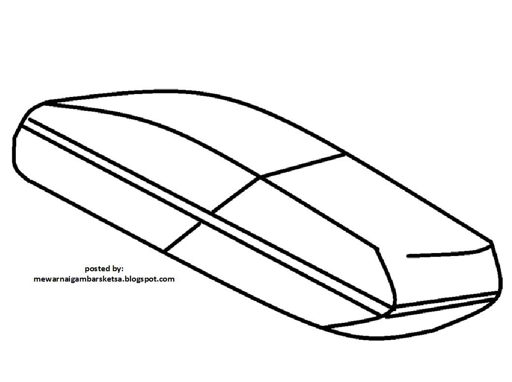 Mewarnai  Gambar Mewarnai  Gambar Sketsa Penghapus Pensil  2