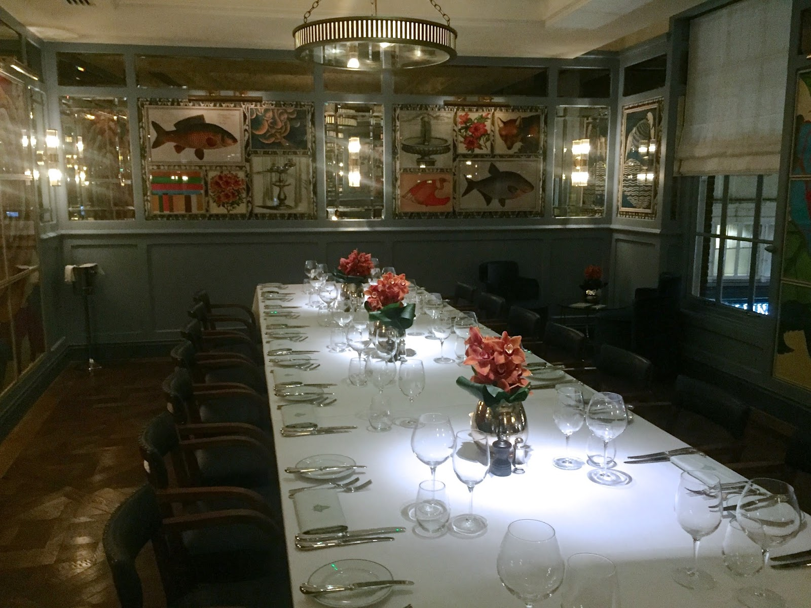 The Ivy Cafe Richmond Private Dining Room
