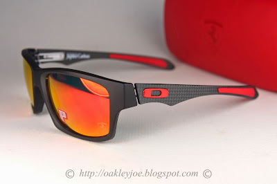 7b30264b86 oo9220-06 Scuderia Ferrari Jupiter Carbon carbon + ruby iridium polarized   480 lens pre coated with Oakley hydrophobic nano solution