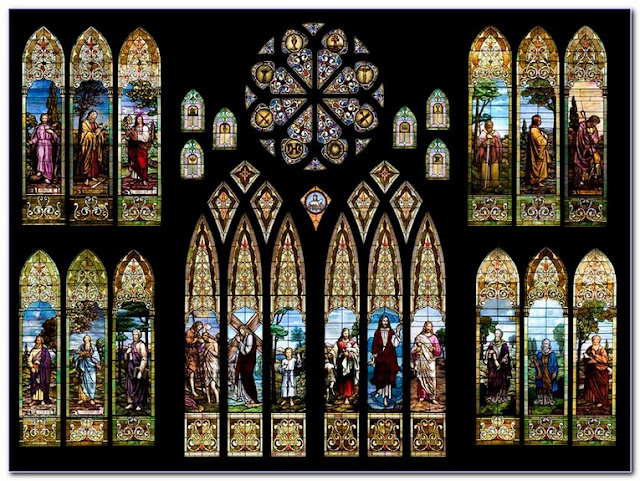 Buy Religious Stained GLASS WINDOWS For Sale