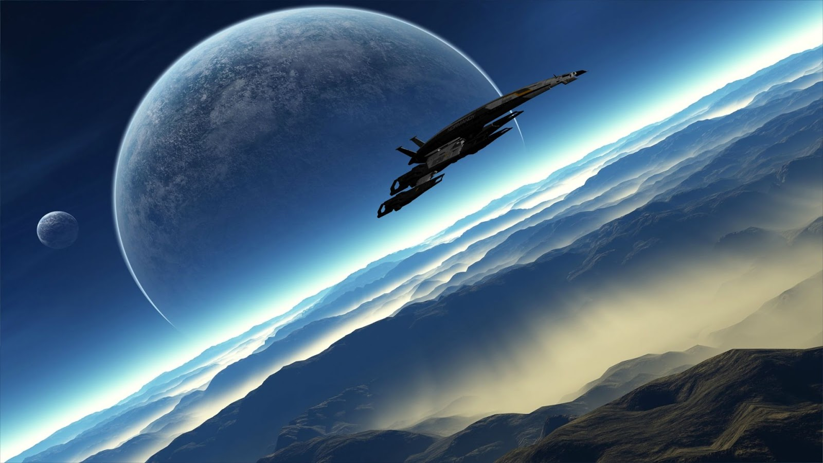 Spaceship Wallpapers for Phones
