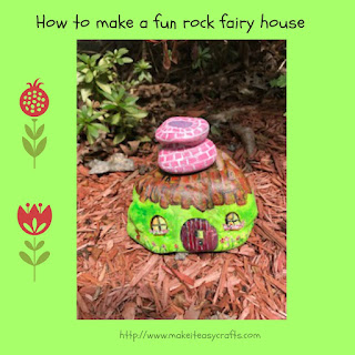 rock fairy house