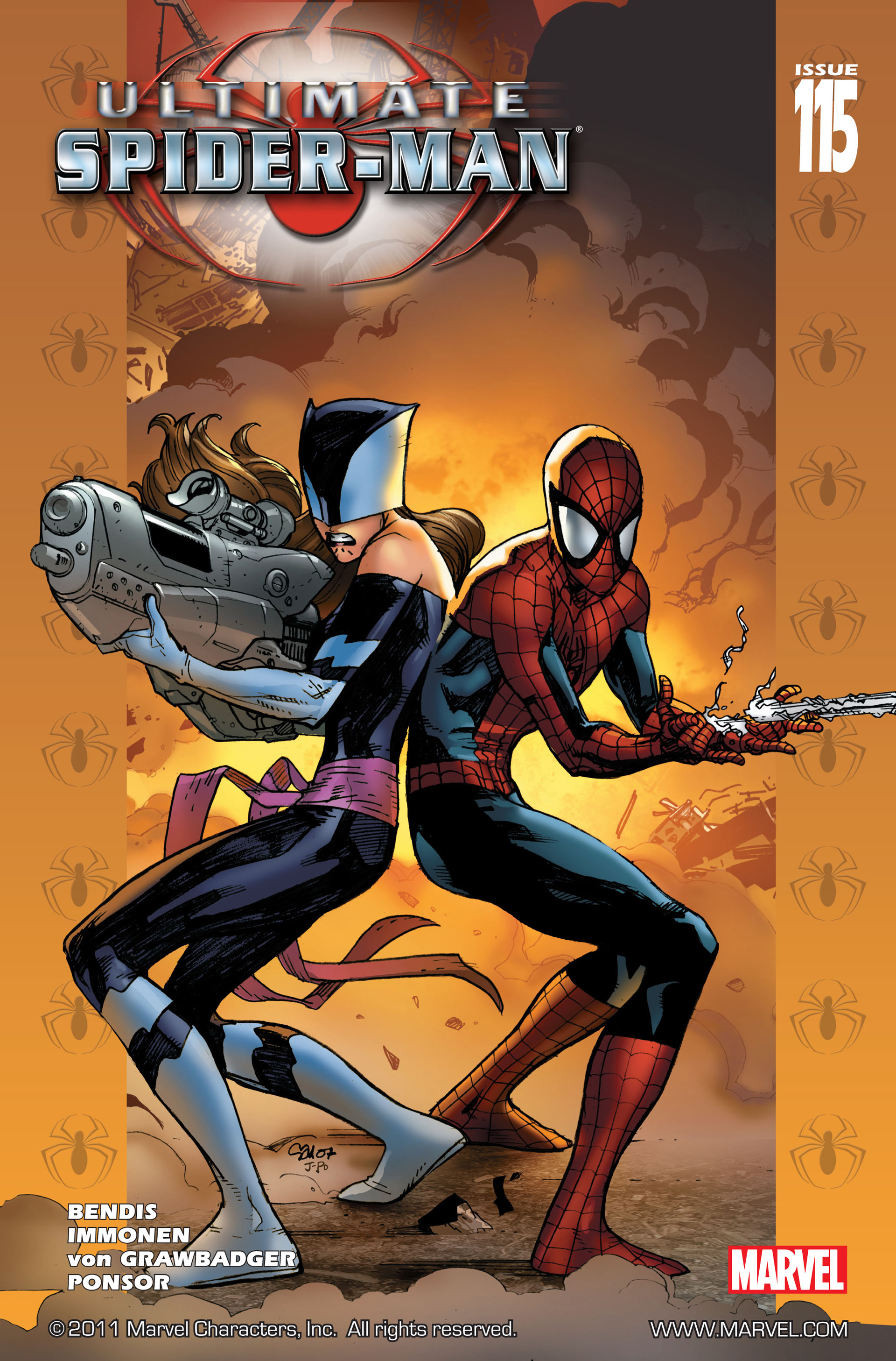 Read online Ultimate Spider-Man (2000) comic -  Issue #115 - 1