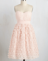 Prom Dress the Night ModCloth The Depth Of Your Delicacy Dress in Petal