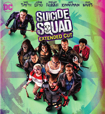 Suicide Squad EXTENDED 2016 DVD R1 NTSC Spanish