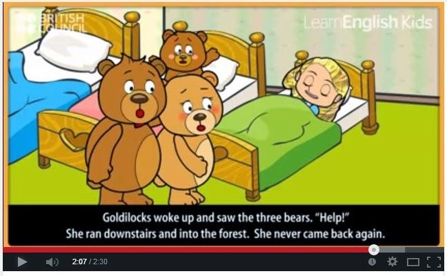 AGORA QUE SOU TEACHER: GOLDILOCKS AND THE THREE BEARS