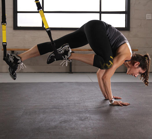 Master Instagram-Worthy Yoga Poses Using the TRX