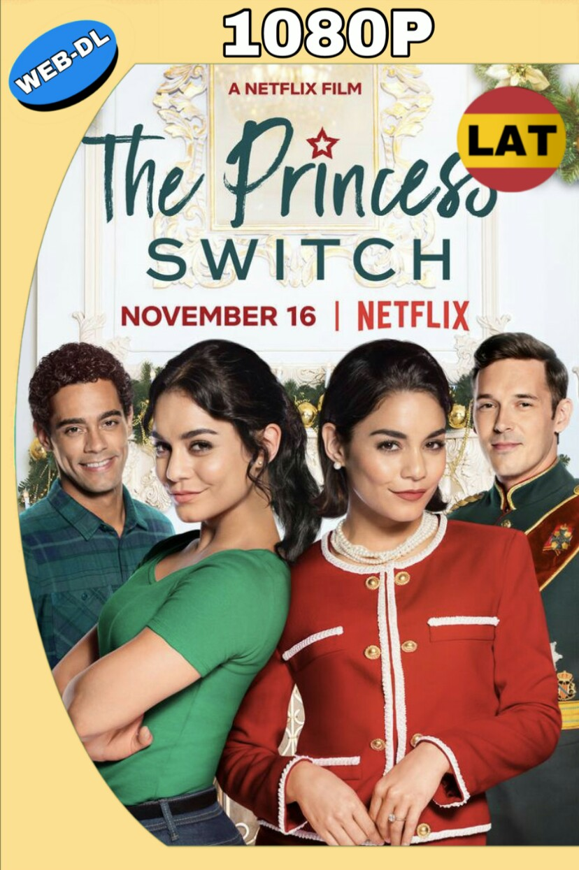 INTERCAMBIO DE PRINCESAS (2018) WEB-DL 1080P LATINO-INGLES MKV