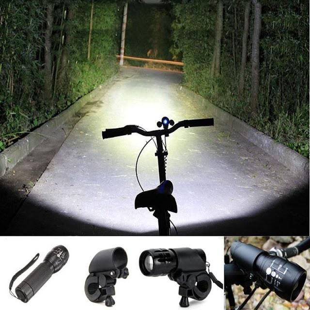 lampu senter untuk sepeda