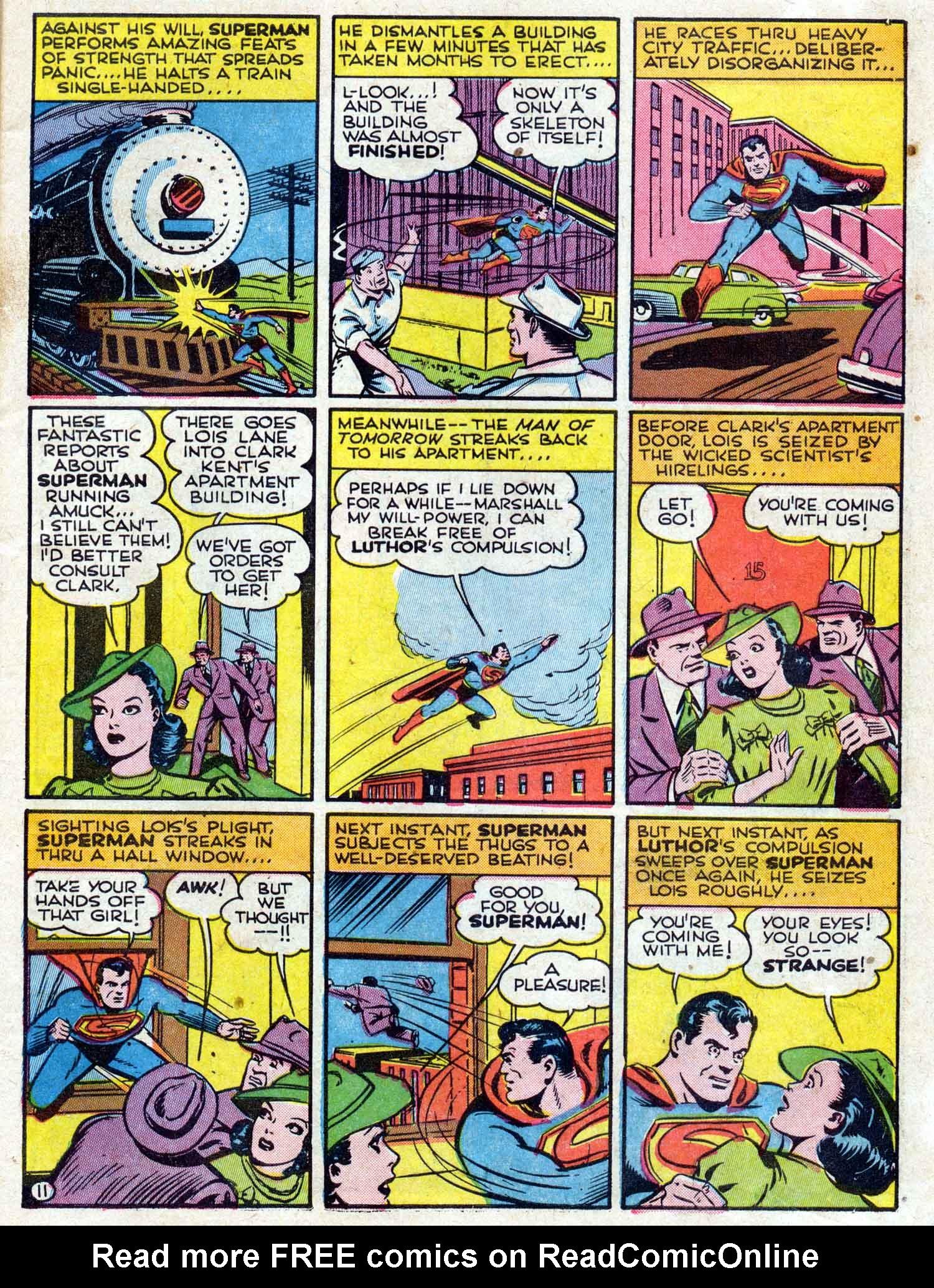 Action Comics (1938) 42 Page 11
