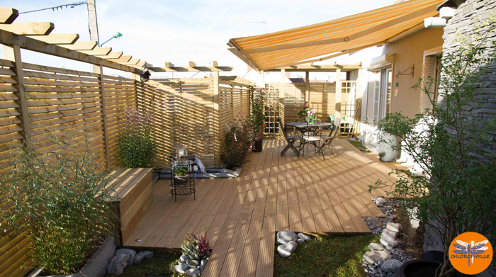 Comment am nager une terrasse d 39 immeuble style japonais for Amenager la terrasse