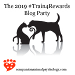 The small version of the Train for Rewards blog party button