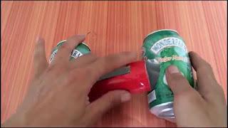 Membuat Pengeras Suara Smartphone dari Kaleng