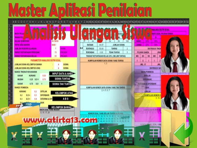 Master Aplikasi Analisis Hasil Ulangan 2016 Full Versi Terbaru