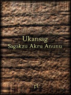 Ukansag - Sagakzu Akru Anunu Cover