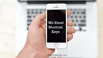 Ms excel shortcut keys for exams