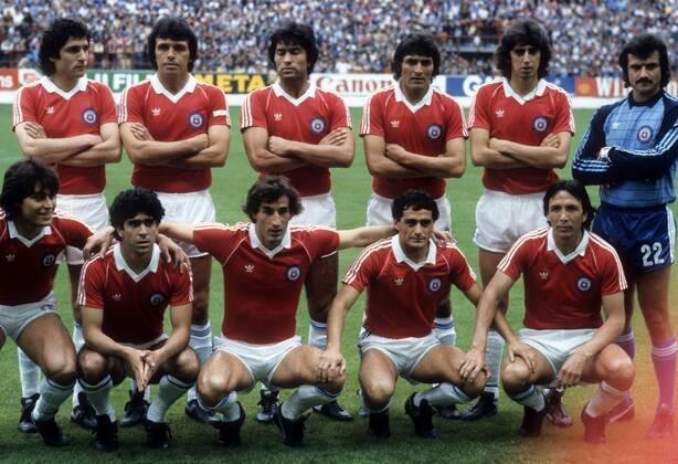 Formación de Chile ante Alemania Federal, Copa del Mundo España 1982, 20 de junio