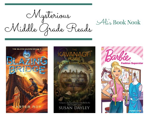 Mysterious New Middle Grade Books