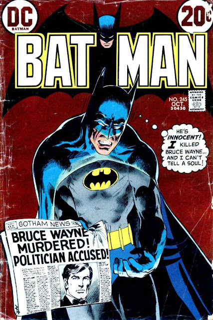 Batman v1 #245 dc comic book cover art by Neal Adams