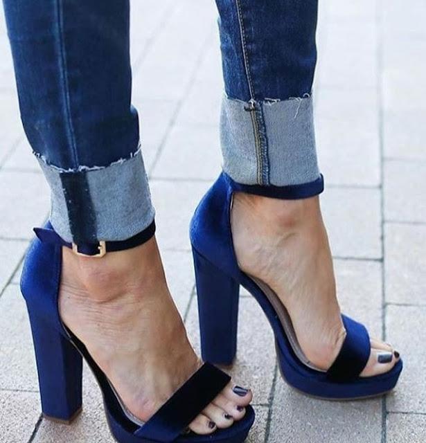 heels too big