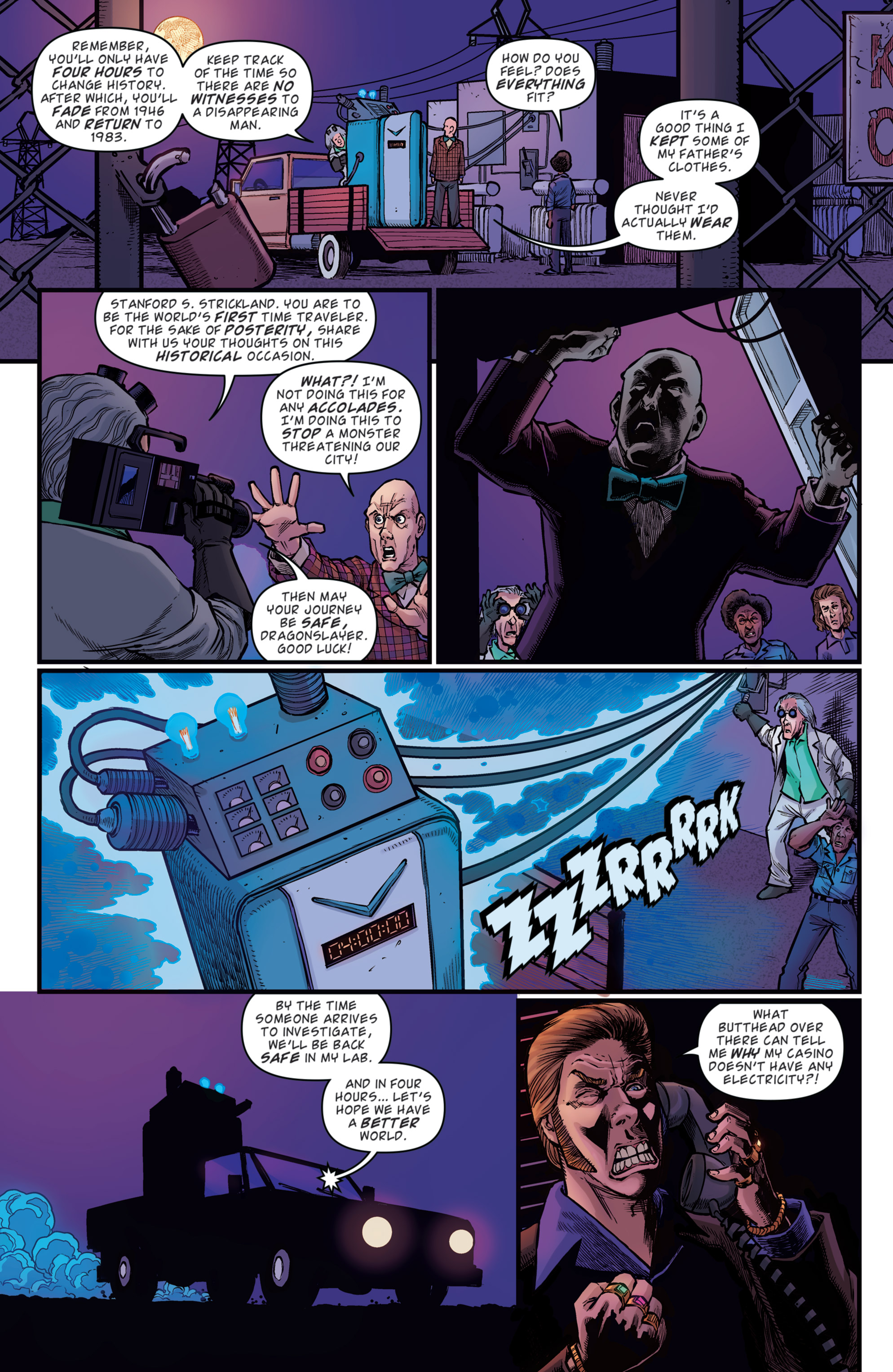 Read online Back to the Future: Biff to the Future comic -  Issue #5 - 7