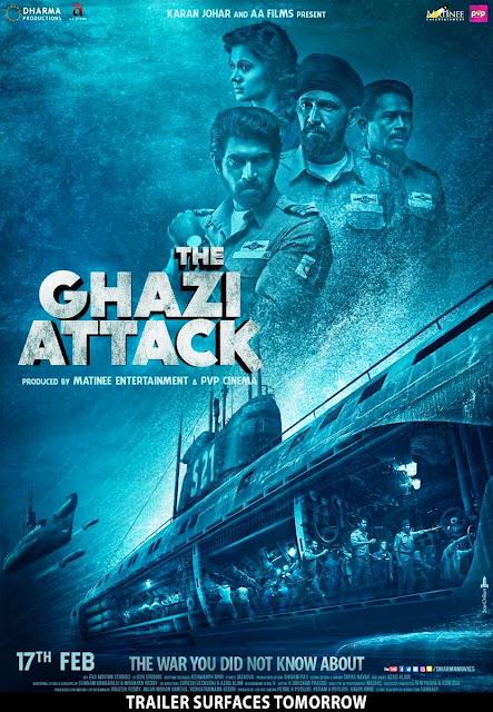 The Ghazi Attack 2017 Hindi pDVDRip 190mb x265 HEVC