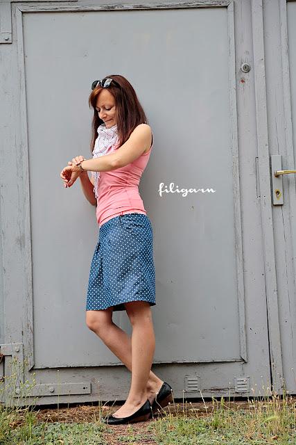 filigarn.blogspot.com - {genähtes} - Neuer Liiieblings-Minirock!