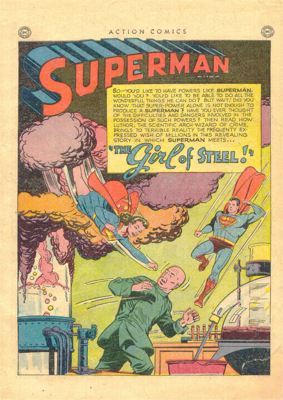 Read online Action Comics (1938) comic -  Issue #156 - 2