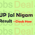 UP Jal Nigam Result 2017 – UP Steno, Routine Clerk Cut Off/Merit List