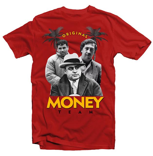 custom t shirts pablo escobar tshirt