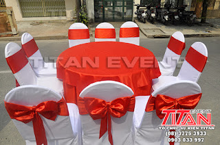Dịch vụ cho thuê bàn ghế đám cưới