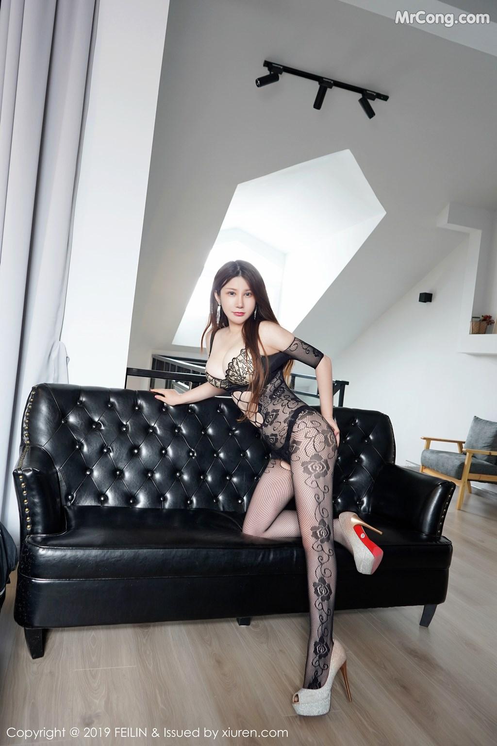 Image FEILIN-Vol.204-MrCong.com-003 in post FEILIN Vol.204: 李清婳 (41 ảnh)