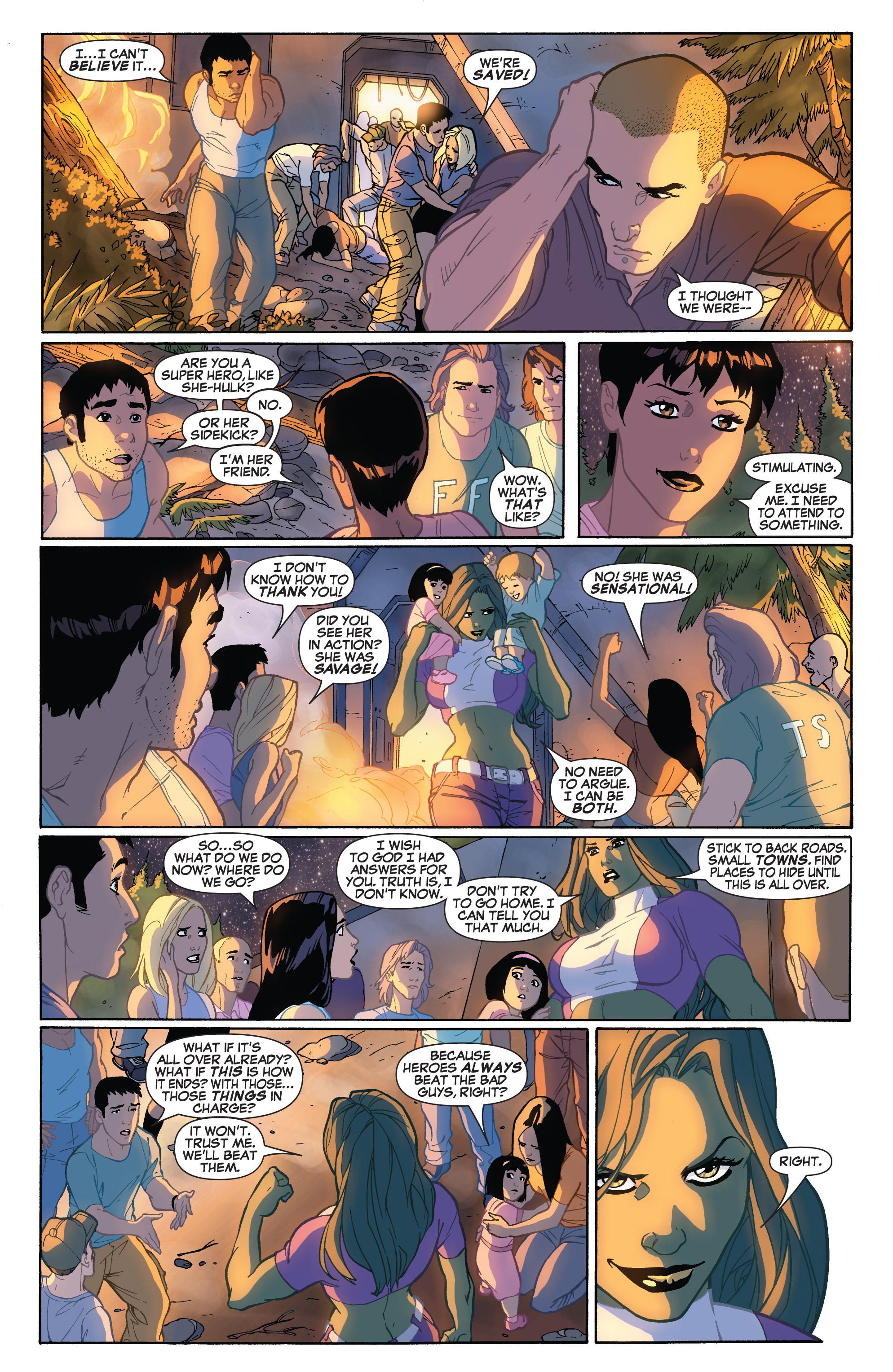 Read online She-Hulk (2005) comic -  Issue #32 - 12