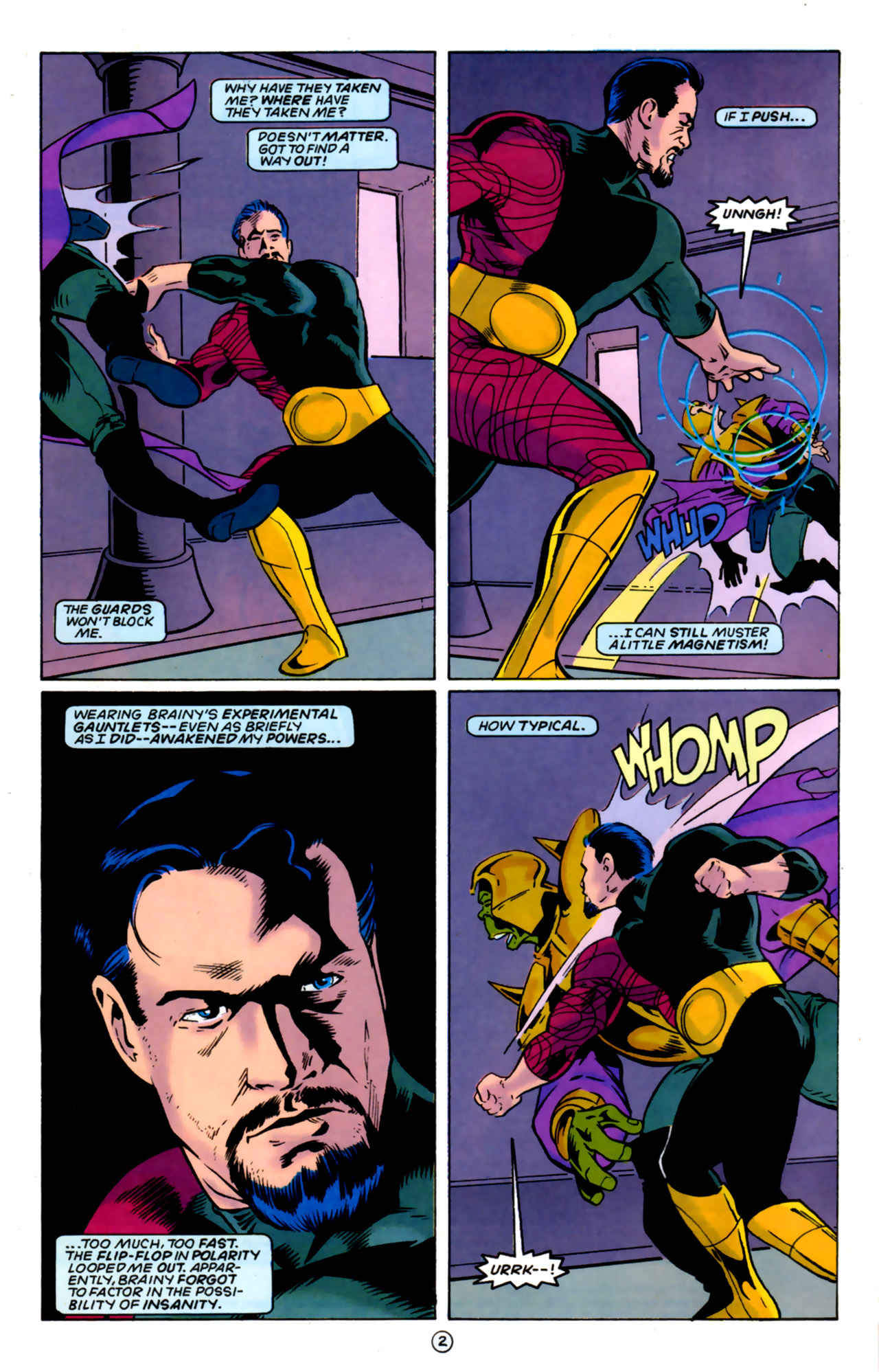 Legion of Super-Heroes (1989) 60 Page 2