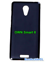 Carcasa gel Negra OWN Smart 8