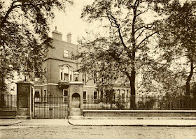 Montagu House, 22 Portman Square, from The Private Palaces   of London past and present by EB Chancellor (1908)