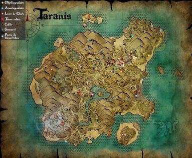 Risen 3, Titan Lords, Taranis Map