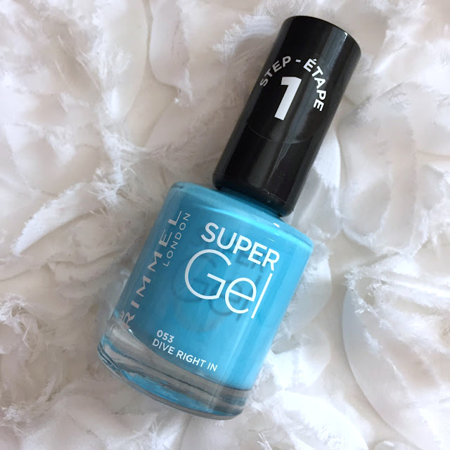 Rimmel Super Gel Beach Ready Collection - Dive Right In