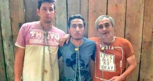Javier Ortega 32 años, Paúl Rivas (45) y Efraín Segarra (60) miembros de El Comercio / RRSS