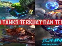 5 Hero Tank Terkuat dan Terbaik Di Mobile Legend